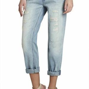 BCBGMaxazria Jeans Cropped Boyfriend Billie (T26)